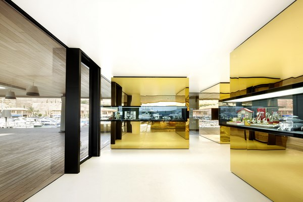 THE GREAT INDOORS-Relojeria Alemana by OHLABoliver hernaiz architecture lab