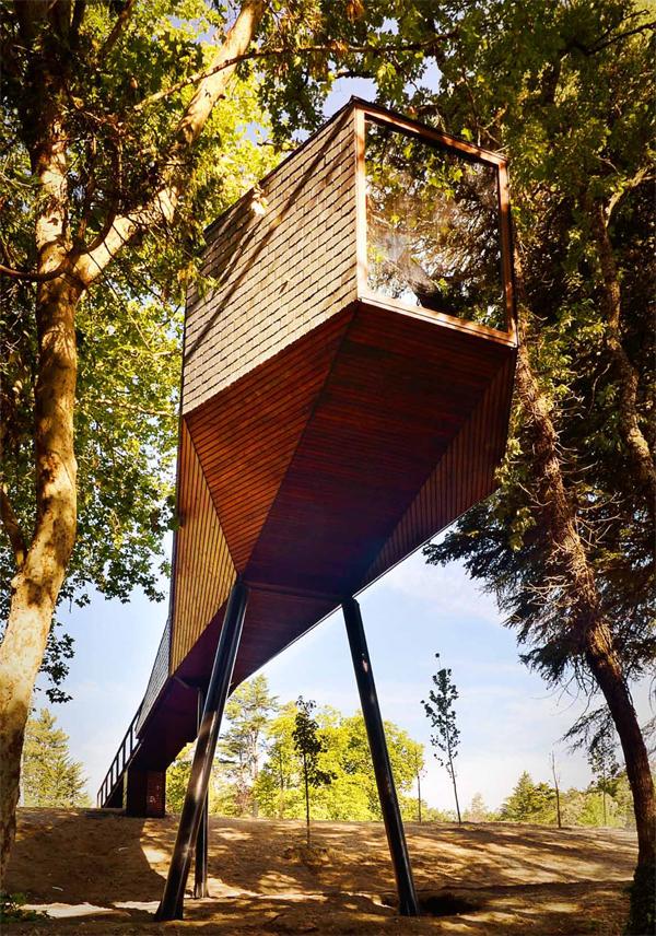 Tree Snake Houses Pedras Salgadas Rebelo de Andrade 1