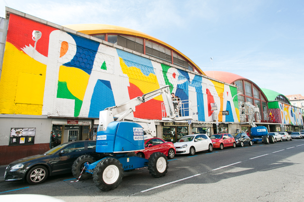 boa mistura arte urbano en el mercado de la cebada madrid diariodesign