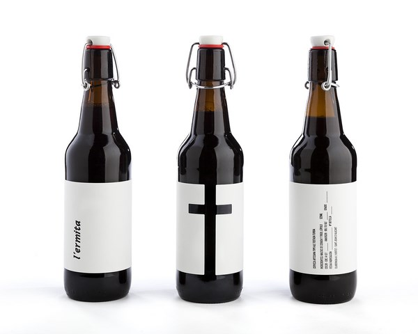 diseño de cerveza lermita diariodesign