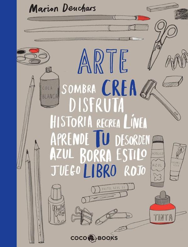 COCO BOOKS-ARTE CREA TU LIBRO-cover