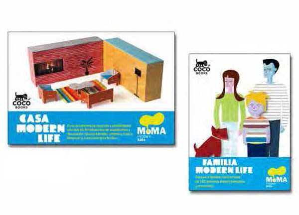 COCO BOOKS-CASA MODERN y FAMILY MODERN LIFE