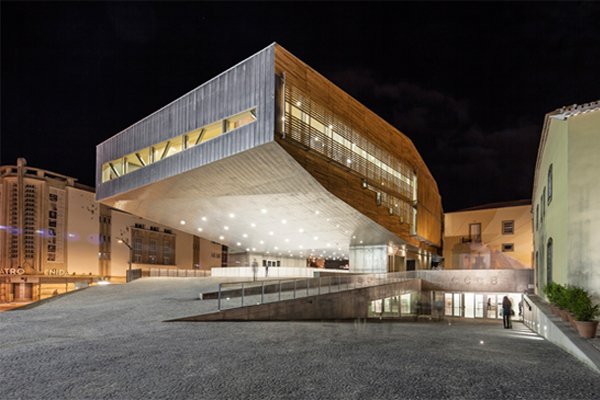 Centro Cultural Castelo Branco Mateo Arquitectura apertura