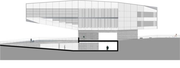 Centro Cultural Castelo Branco Mateo Arquitectura seccion 1