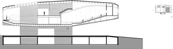 Centro Cultural Castelo Branco Mateo Arquitectura seccion 2