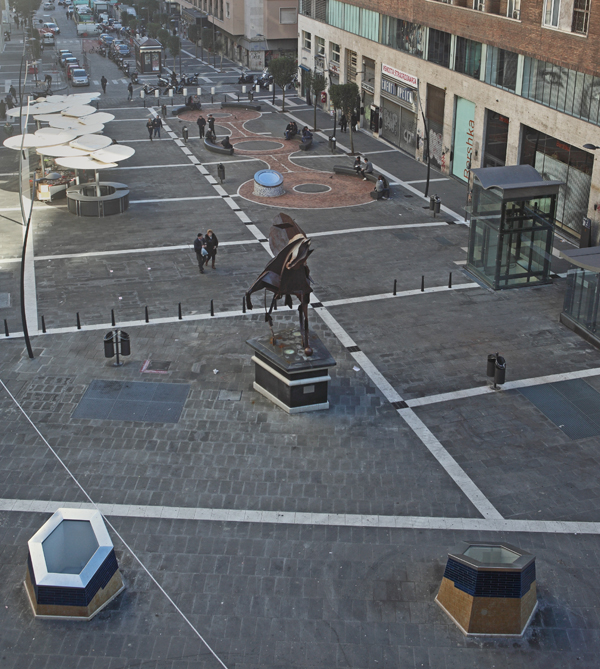oscar tusquets estacion de metro toledo napoles courtesy of M.N. Metropolitana di Napoli Spa