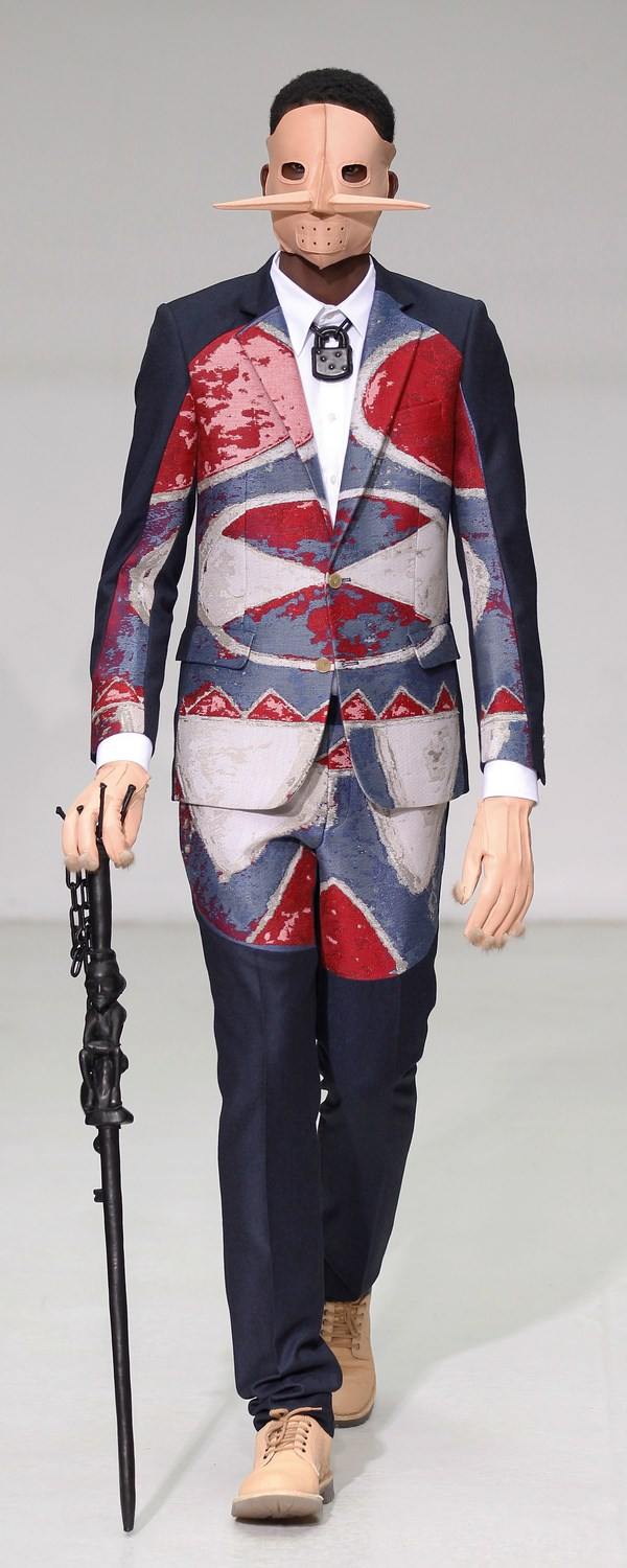 WALTER VAN BEIRENDONCK MENS FALL/WINTER 2012 1/21/2012