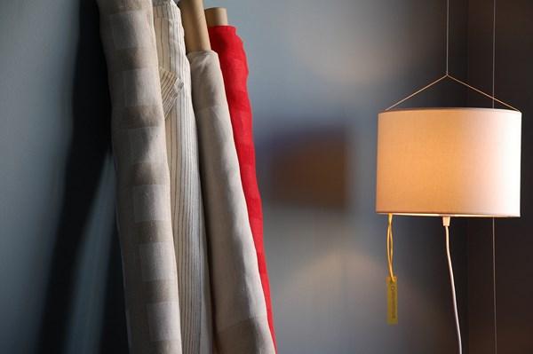 PLECS-manteles lino lamparas interiorismo decoración manteles lino lampara
