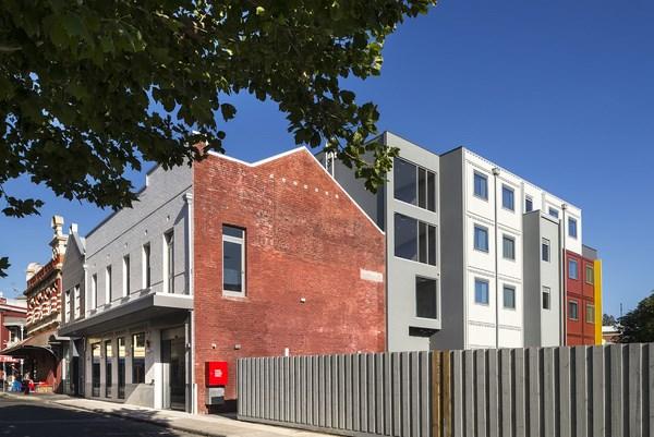 hotel australiano hougoumont fachada lateral diariodesign