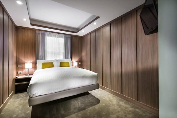 rehabilitacion hotel australiano hougoumont dormitorio diariodesign