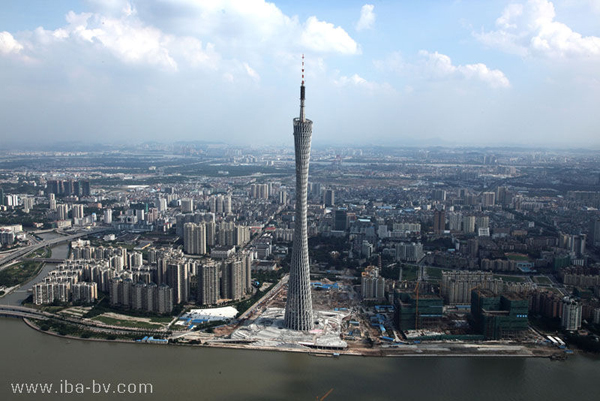 6 canton tower