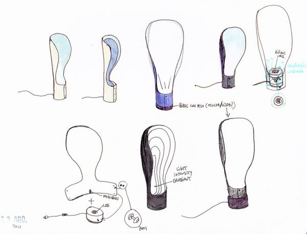 9 collar lamp