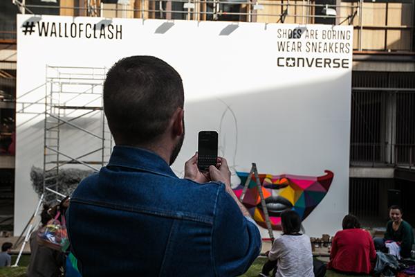 Fotos Converse #wallofclash 4