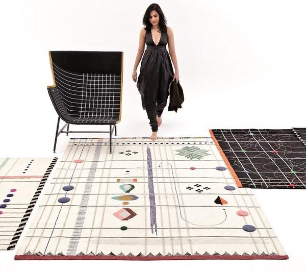 rabari alfombra de doshi levien para nanimarquina