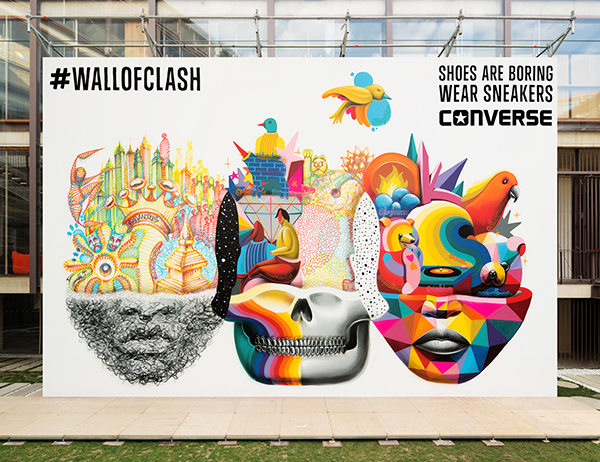 #wallofclash Foto Mural COAM_09_Fot_Andres Flajszer