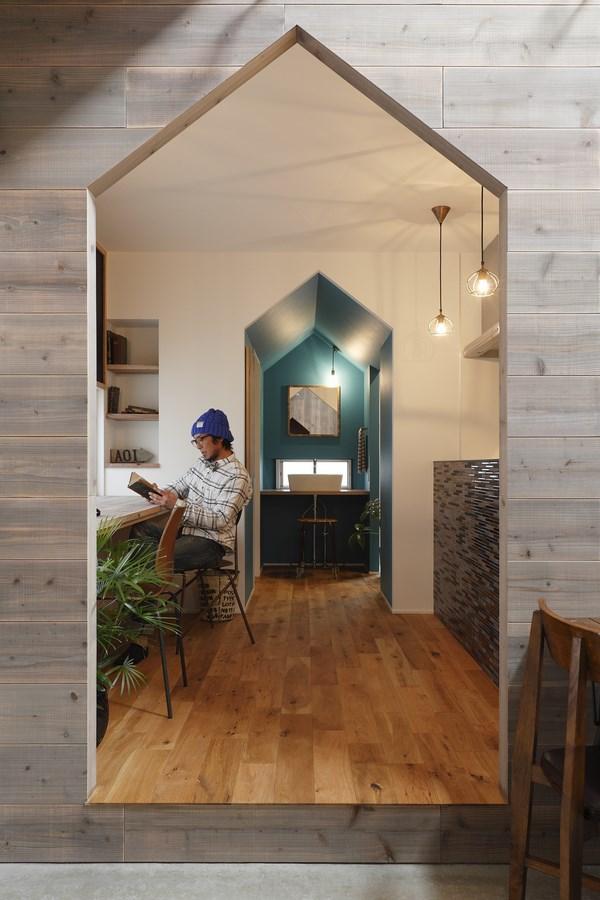 11 hazukashi house