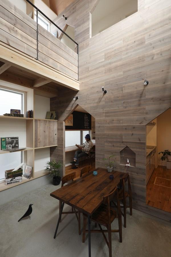 7 hazukashi house