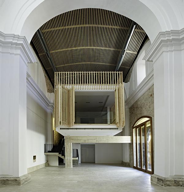 Iglesia del Convento de las Jerónimas de Brihuega Guadalajara Adam Bresnick Arquitectos 2