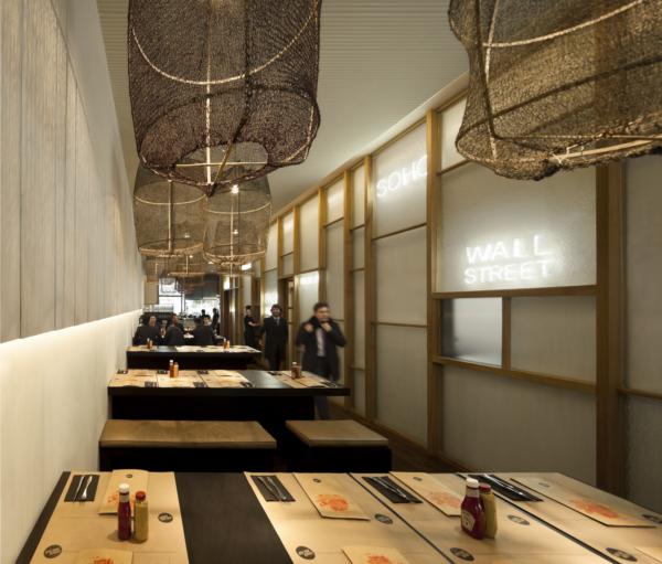 foto del interior de NY Burger Isabel López en madrid