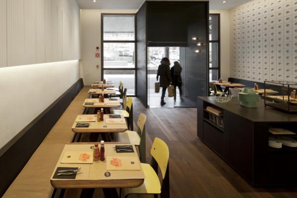 NY Burger Isabel López Vilalta en Madrid