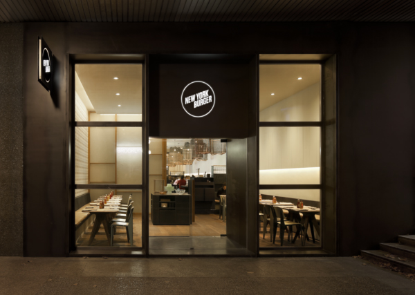 fachada New York  Burger en Madrid