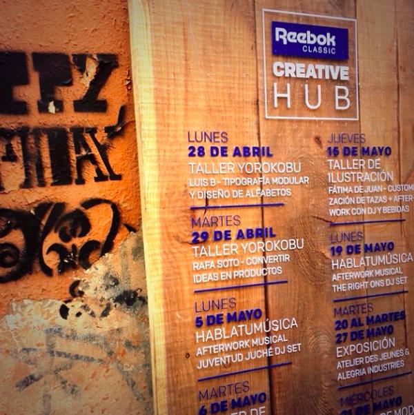 Reebok Creative Hub 8
