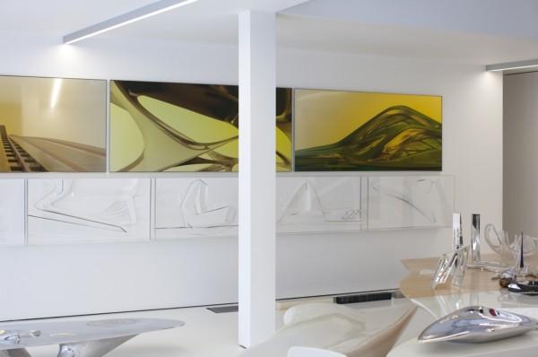 Apartamento de Zaha Hadid.