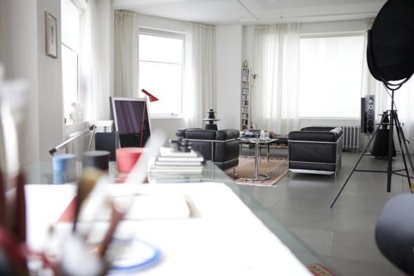 Apartamento de Daniel Libeskind.