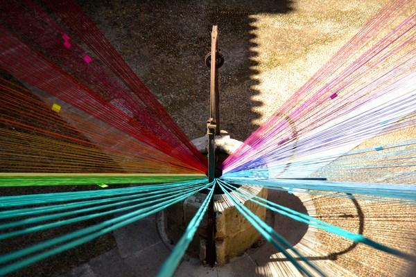 10 museo encaje de colores