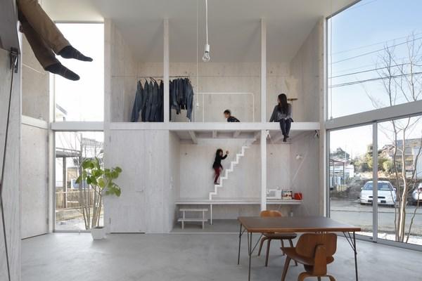 10 unfinished house kashiwa