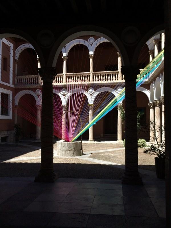 2 museo encaje de colores