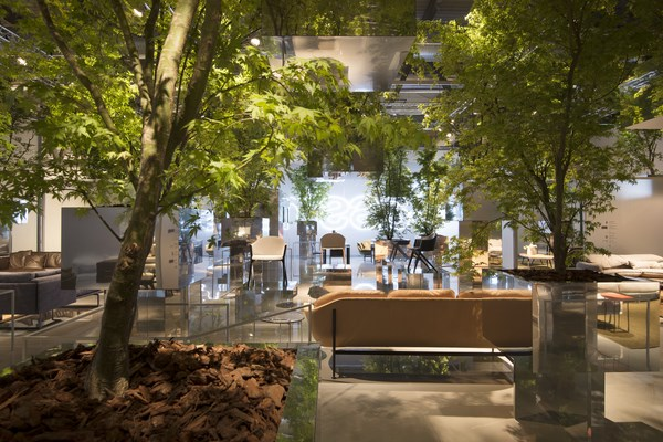 3 CASSINA Floating Forest_Fujimoto
