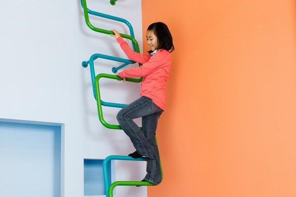 KidsLofty: un nuevo concepto de escaleras infantiles, por Alegre Industrial Studio.