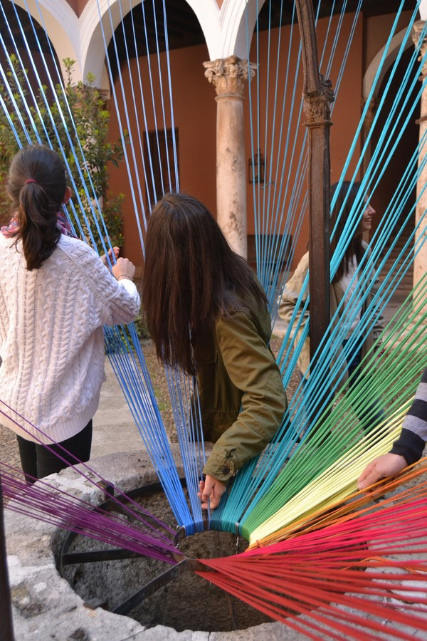 4 museo encaje de colores