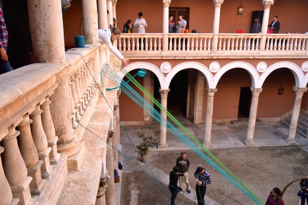 5 museo encaje de colores