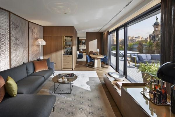 5 suites mandarin oriental barcelona
