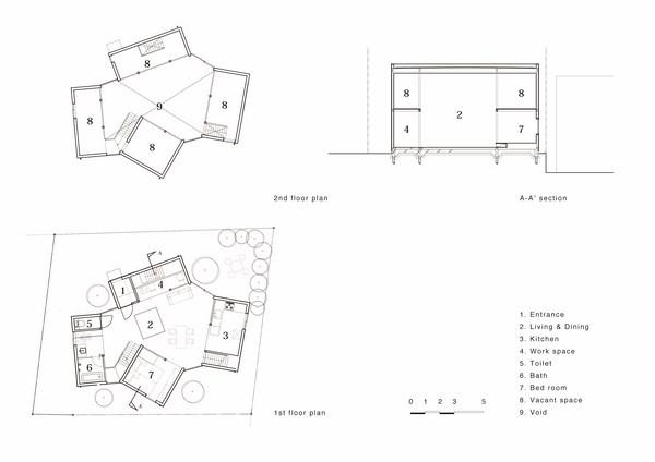 5 unfinished house kashiwa