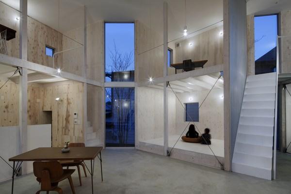 6 unfinished house kashiwa
