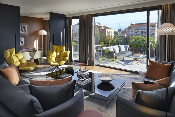 7 suites mandarin oriental barcelona