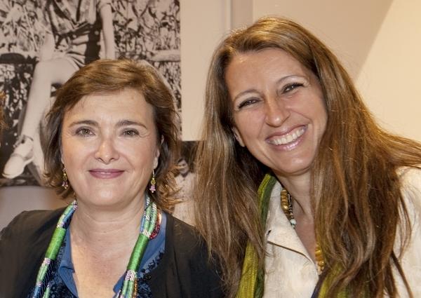 Cristina Castañer y Benedetta Tagliabue -® olga planas