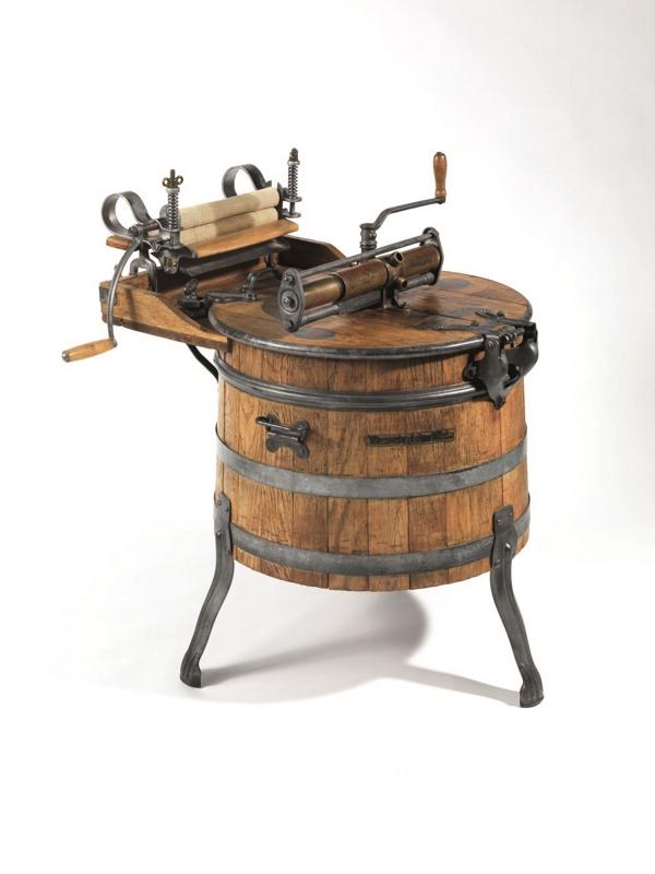 De los primeros electrodom 233 sticos milele expuestos en el museo de su