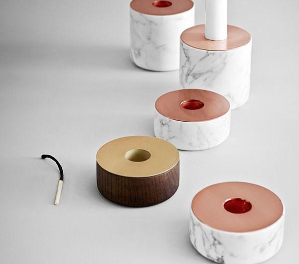 tendencias de cobre y laton en objetos de menu chunk
