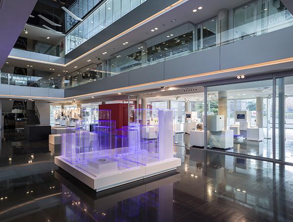 PORCELANOSA 2014 Centro de Innovacion 3M Touza Arquitectos krion diariodesign