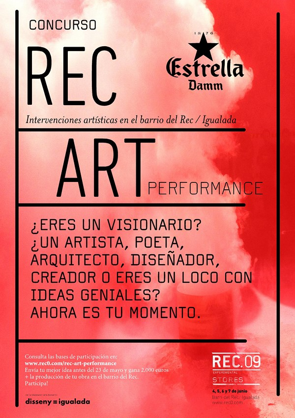 Rec_Art_Performance cartel inf