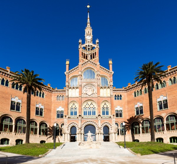 Reconstruccion Hospital de Sant Pau