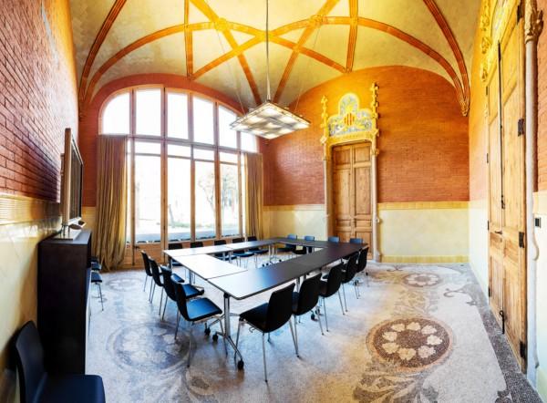 Hospital de Sant Pau reconstruccion edificio modernista