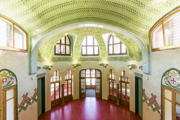 Pabello Sant Leopold del Hospital de Sant Pau de Barcelona en diariodesign