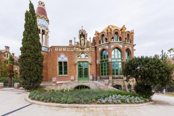 Sant Pau Pabellón St Leopold de Hospital de Sant Pau Barcelona