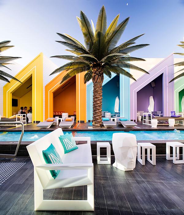 Matisse Beach Club australia vondom casetas de bano diariodesign