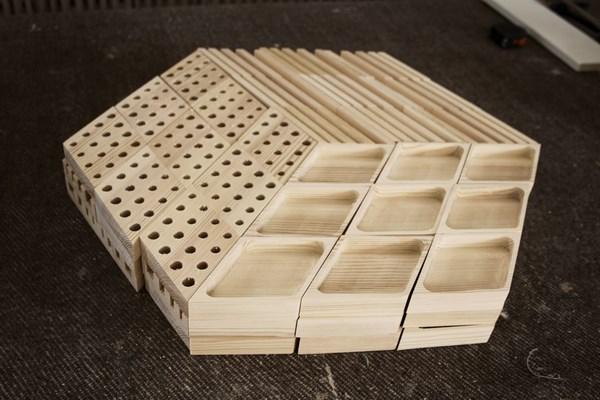 Kesito diseño de Woodendot ordenar el escritorio con madera de Tierra de Pinares diariodesign